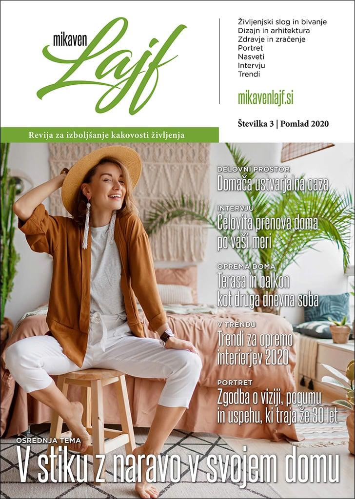 naslovna revije MIKaven Lajf